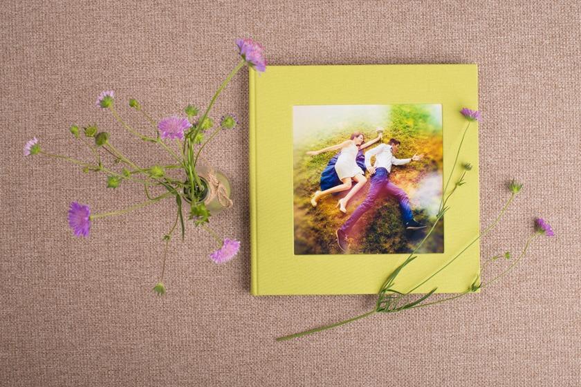 album ślubny ręcznie robiony